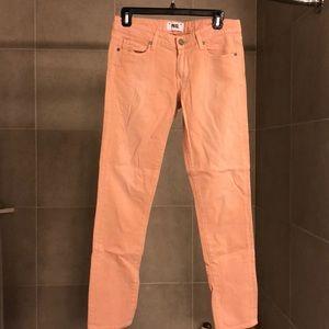 Petal Pink Paige Jeans